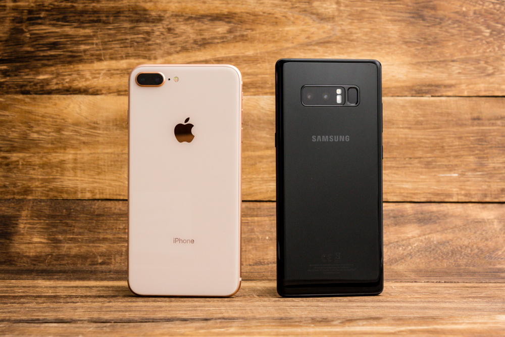 android iPhone comparison
