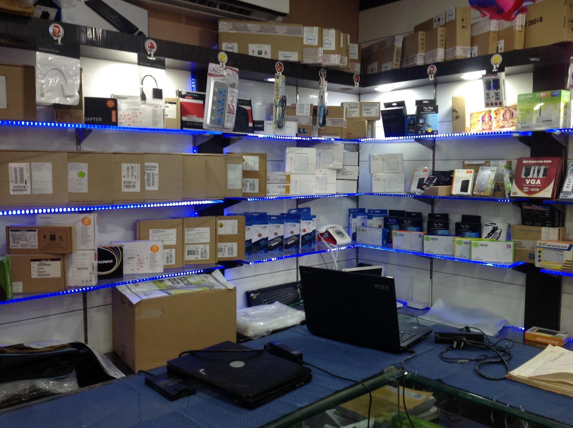 the laptop shop